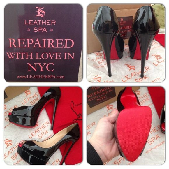 76437a3da160 Christian louboutin lady peep I just have to let you all know about The  leather Spa