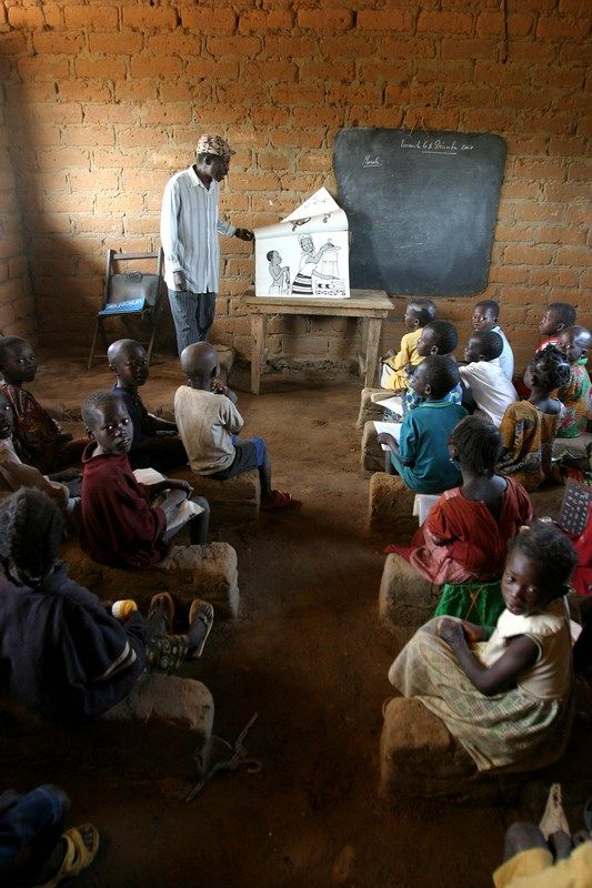 Category Classrooms Central African Central African Republic African Life