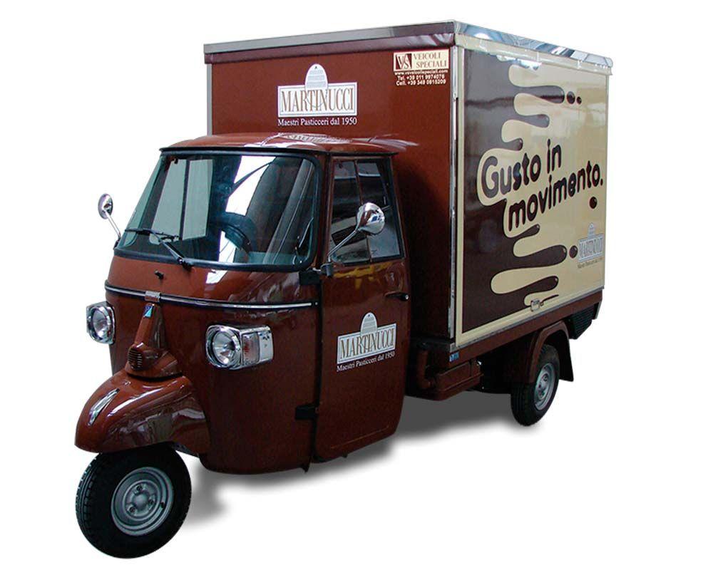 Ape caff e gelati martinucci street food food truck for Ape bar prezzo