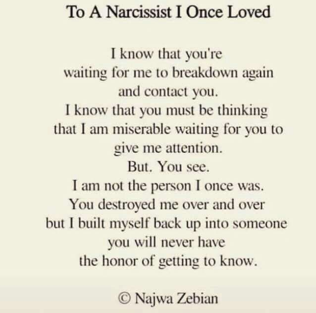 Dating narcissistic sociopath