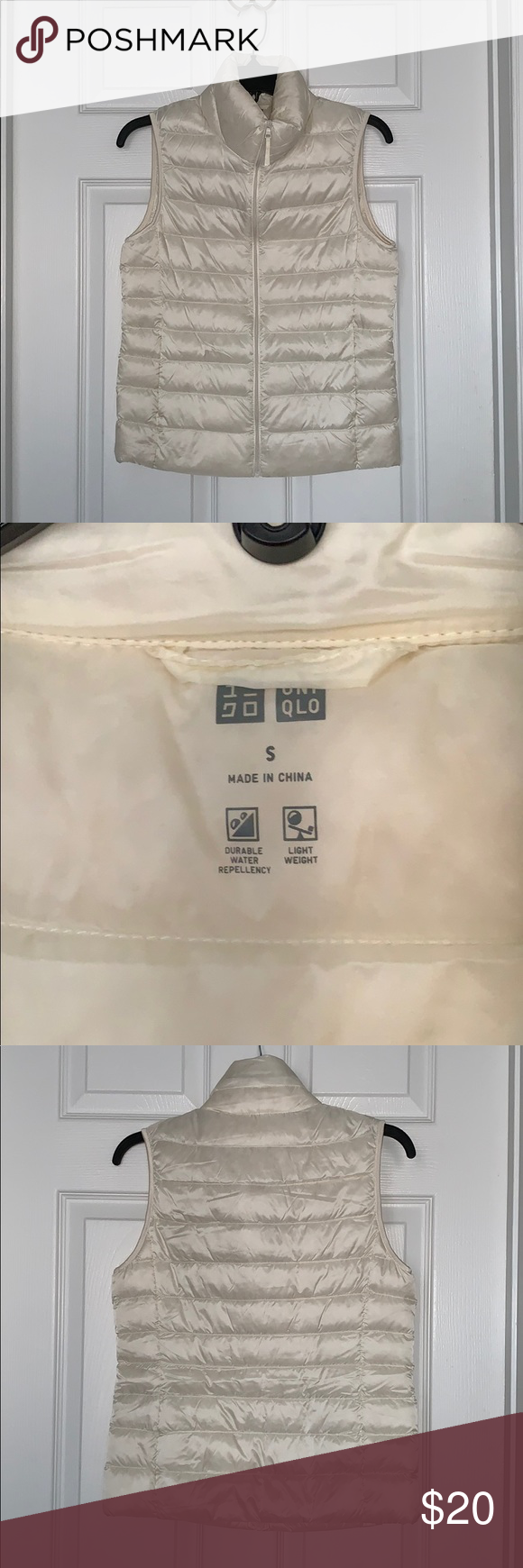 Uniqlo packable puffer vest Uniqlo jackets, Vest white