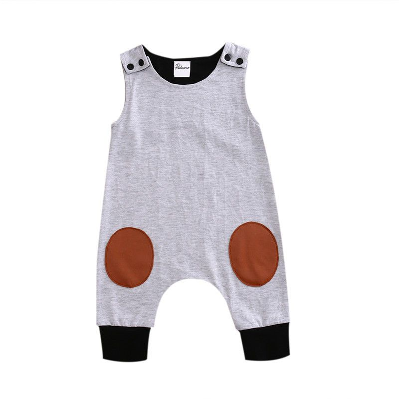 6ac20c4a570a Click to Buy    Top Baby Kids Boy Girl Infant Romper Jumpsuit Cotton ...