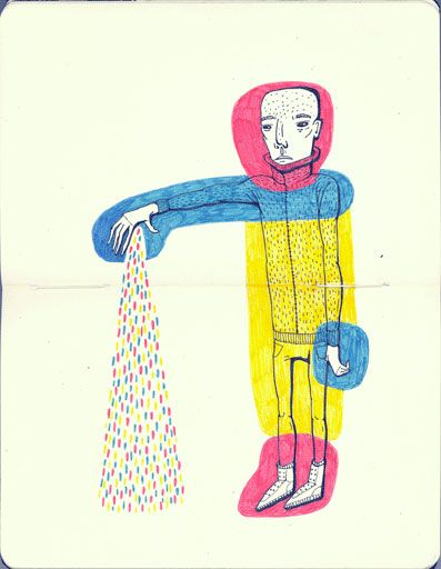Blog: One Last Sketchbook Party! - Doodlers Anonymous #Art #Doodle