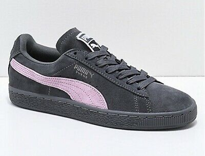 puma suede iron gate