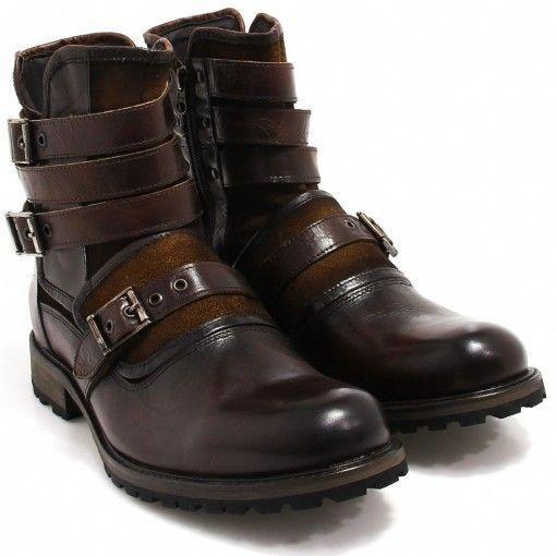 57c7a6c41c Bota Coturno Zariff Shoes Monk Strap - Imagem 2 #mensfashionimages ...