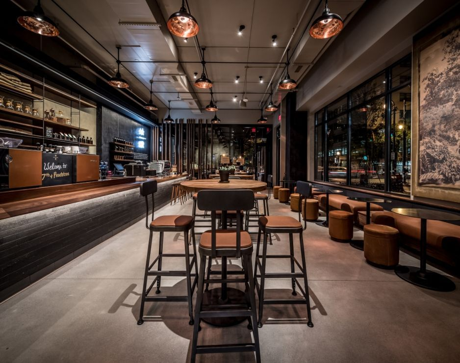 Starbucks reserve coffees showcased in new atlanta store