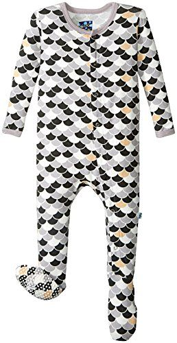 2880d935b62e KicKee Pants Unisex Baby Print Footie Prdkpf173mnsc Midnight Scales 612  Months    Learn more by visiting the image link.Note It is affiliate link  to Amazon.