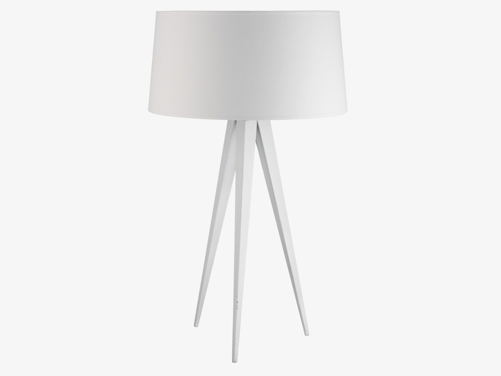 Delicieux YVES WHITES Metal White Tripod Table Lamp Base   HabitatUK
