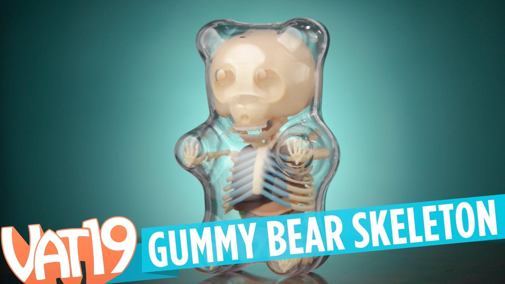 Gummy Bear Skeleton | Christmas Wish List | Pinterest | Bears