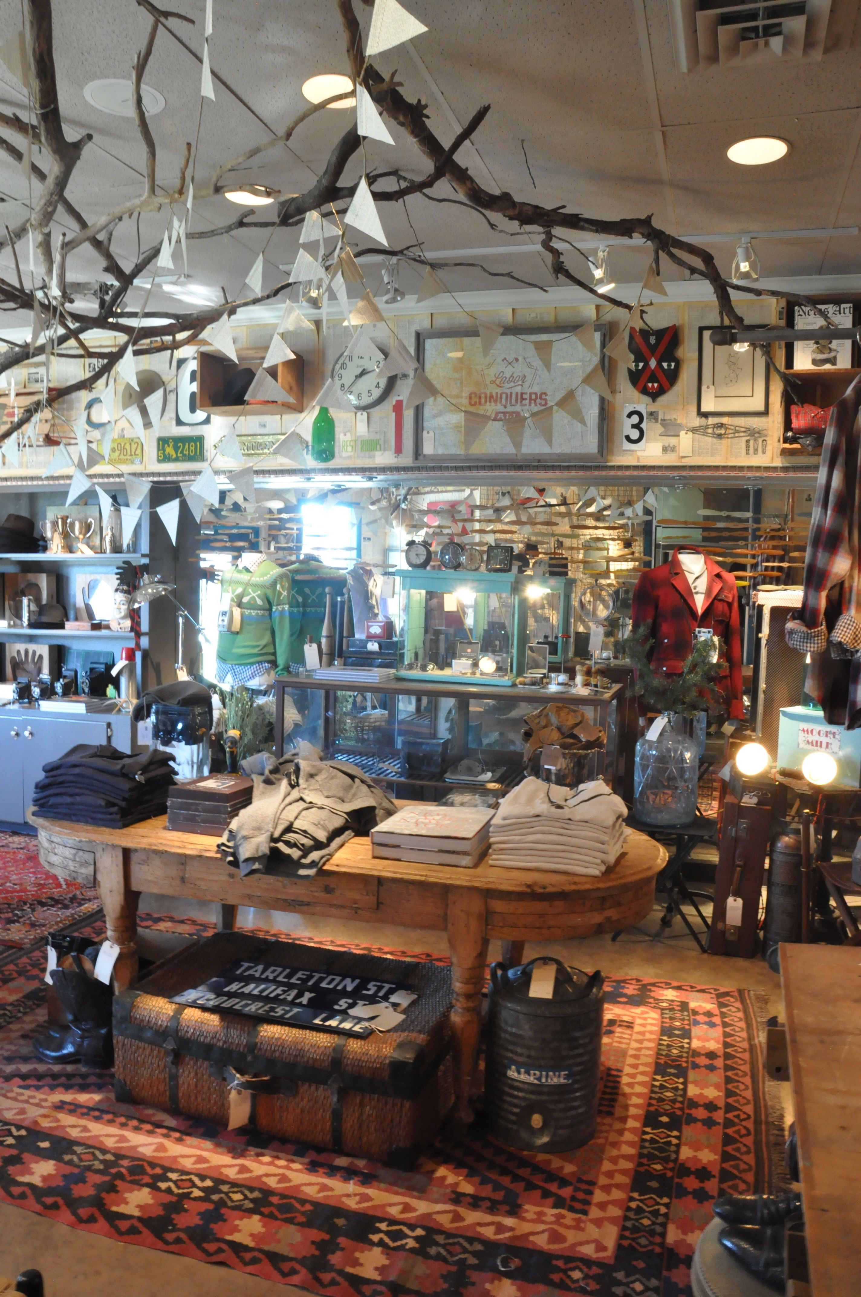 Love The Hanging Branches The Lab Mercantile By Sara