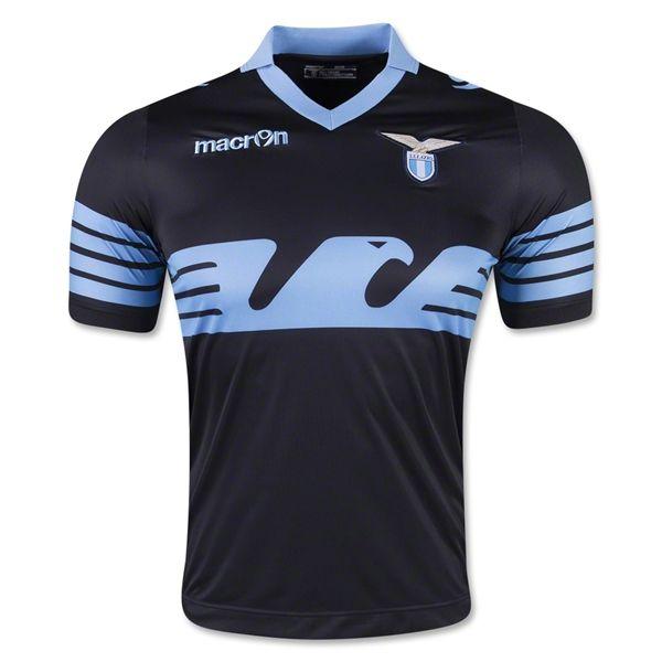 bd621a0040 Lazio 15/16 Away Soccer Jersey Futebol, Kits De Futebol, Camisas De Futebol