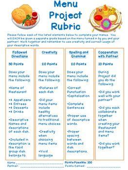 create your own restaurant menu wellness nutrition create