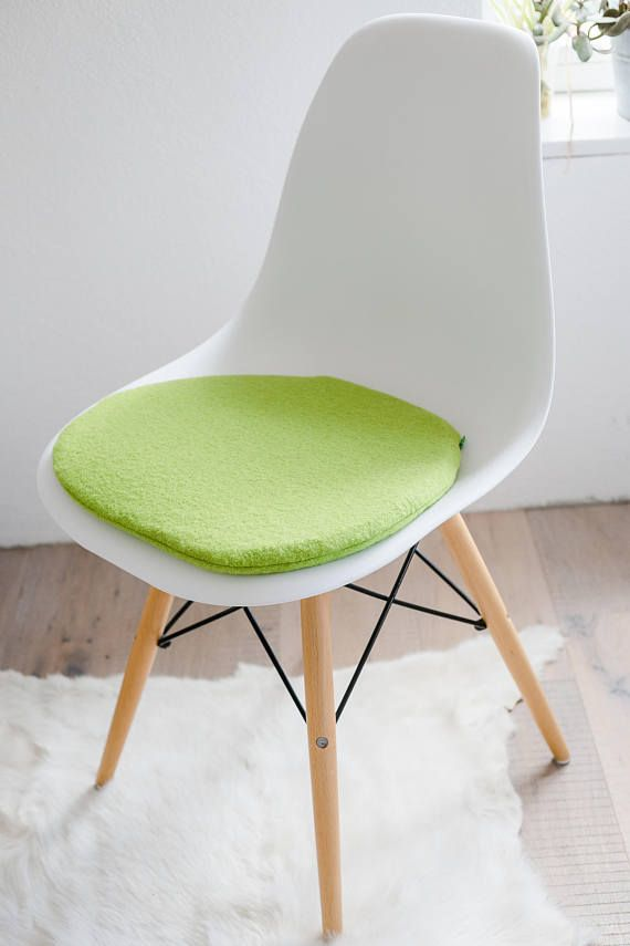 Seat Cushion For Eames Chair In Apple Green In 2019