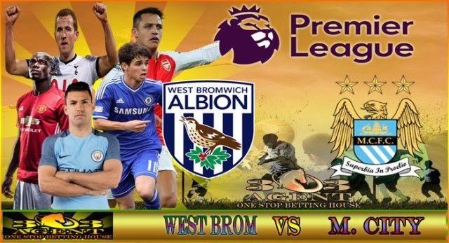Prediksi Skor West Brom vs Manchester City 29 Oktober 2016