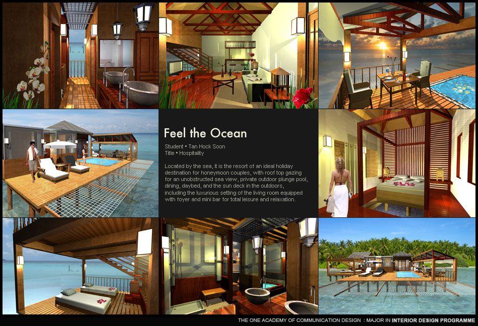 Tan Hock Soon L Feel The Ocean College Design Media Design Design