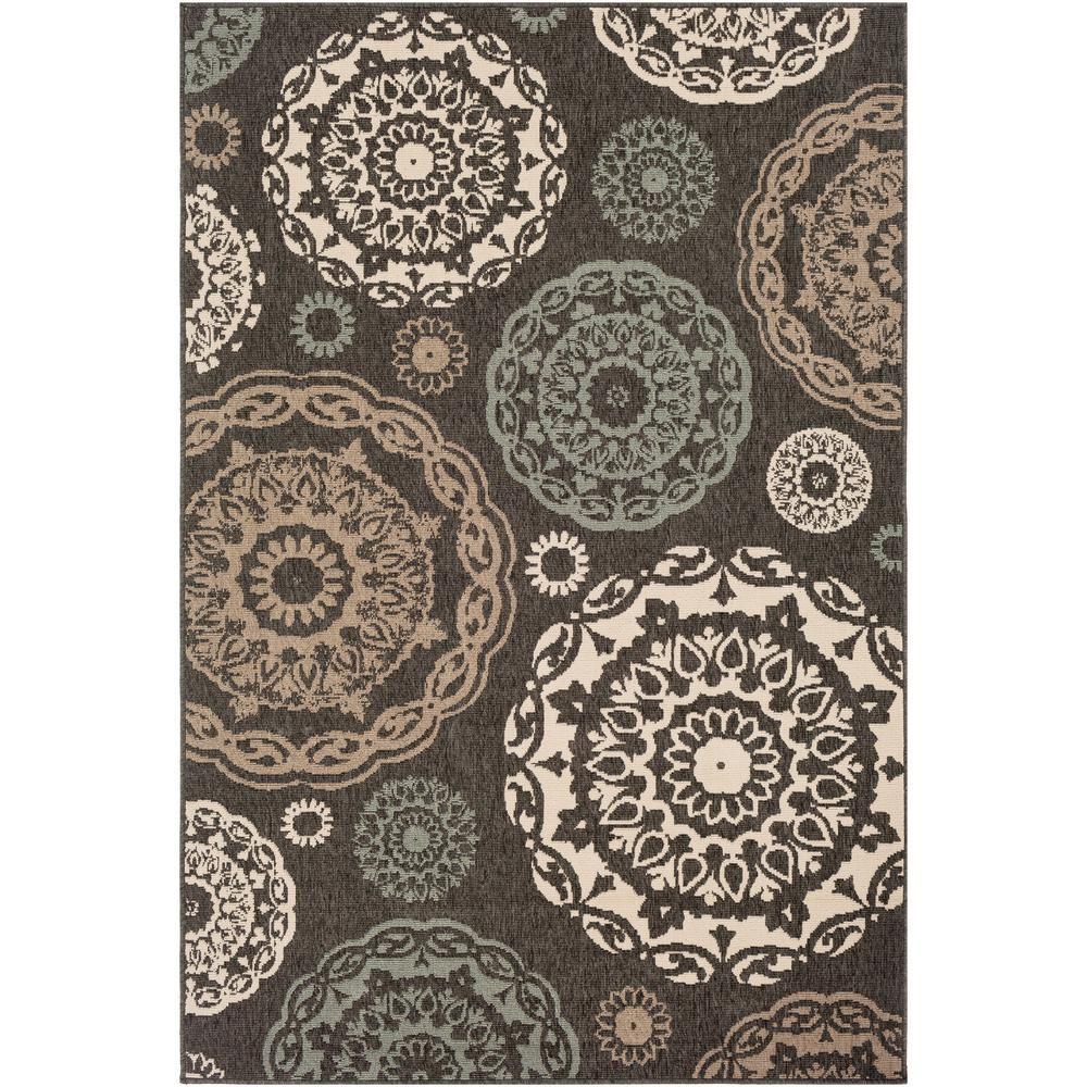 Artistic Weavers Felix Black 3 Ft 6 In X 5 Ft 6 In Oriental