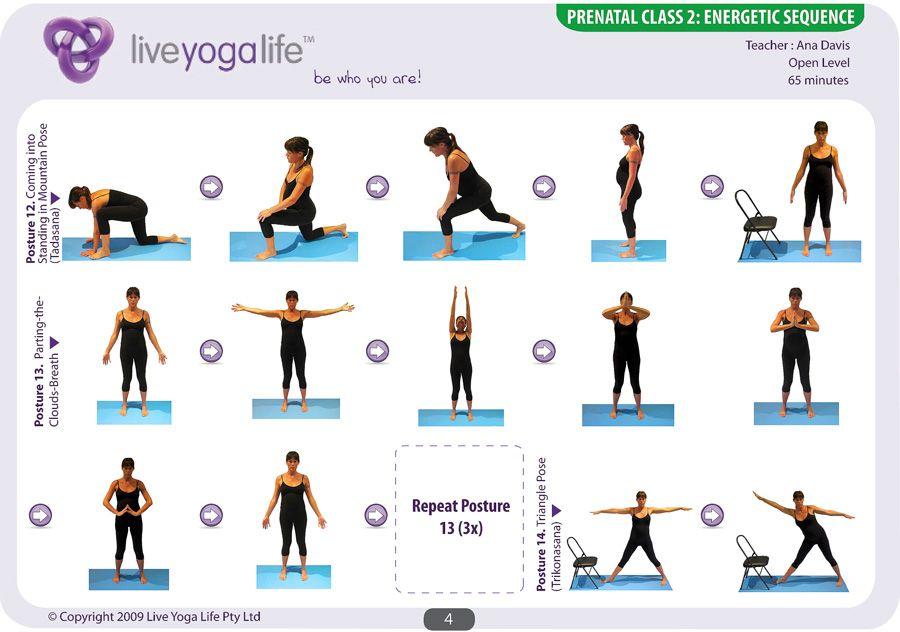 Prenatal Yoga Complete Set Class 2
