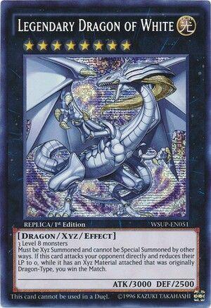 Legendary Dragon Of White Blue Eyes White Dragon Xyz Yugioh Dragon Cards Legendary Dragons Yugioh Cards