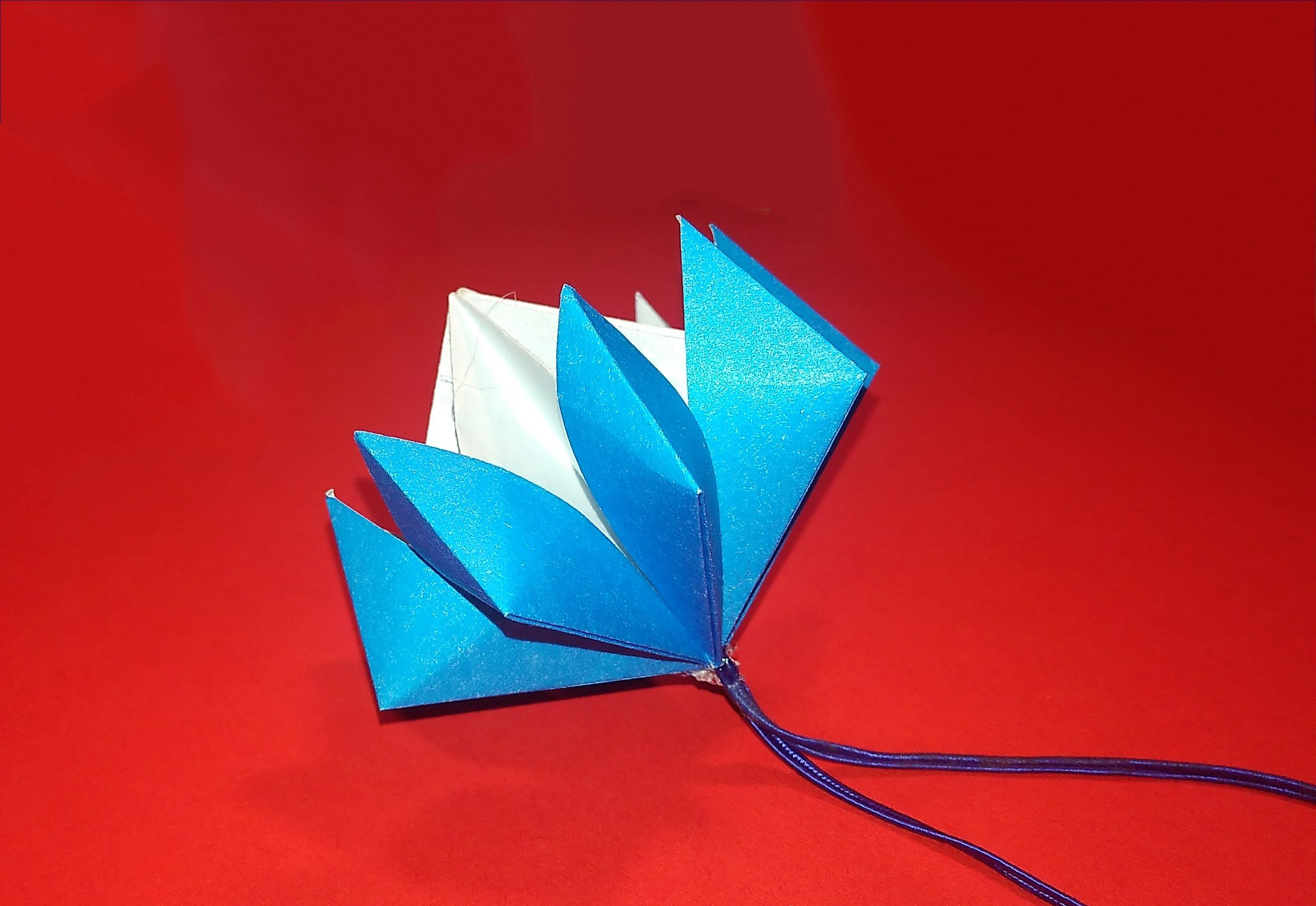 Easy Origami Flower Origami Bell Great Paper Flower Decorating