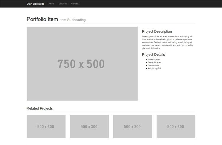 Free Bootstrap 3 Themes and Templates | Webdesign Inspiration ...