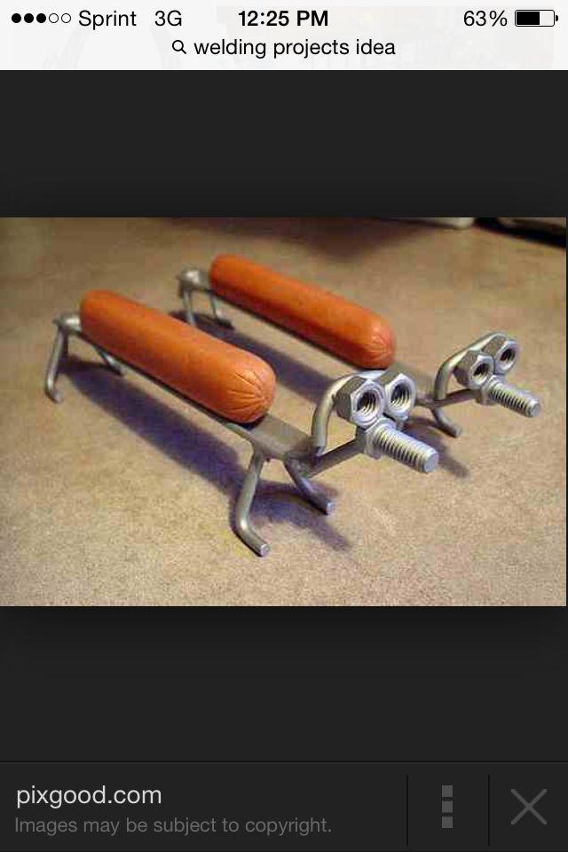 Hot Dog Holder Welding Project Ideas Pinterest