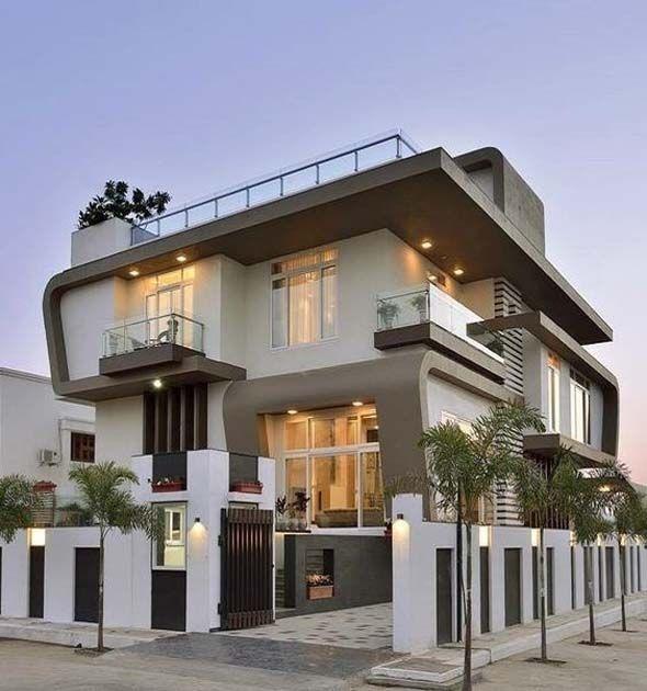 Home Exteriors Design And Unique Design Features 2019