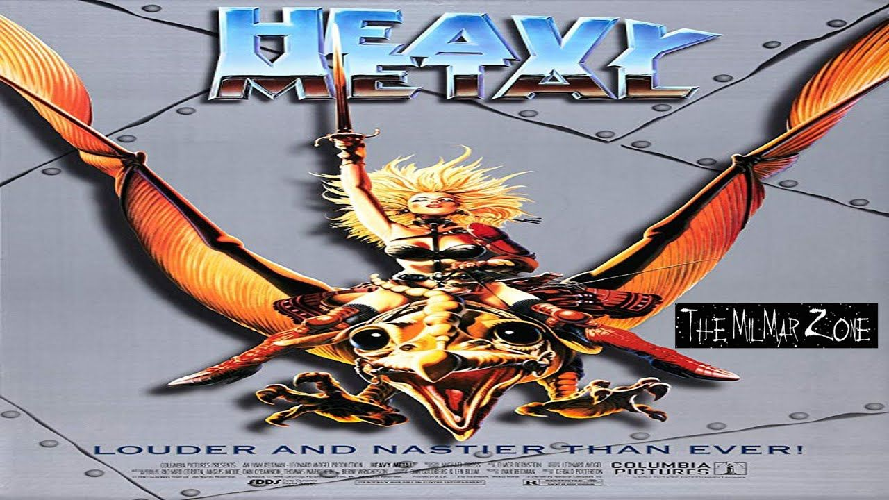 Heavy Metal 1981 A Time Travel Movie Trailer In 2020 Heavy Metal Movie Heavy Metal Comic Heavy Metal 1981