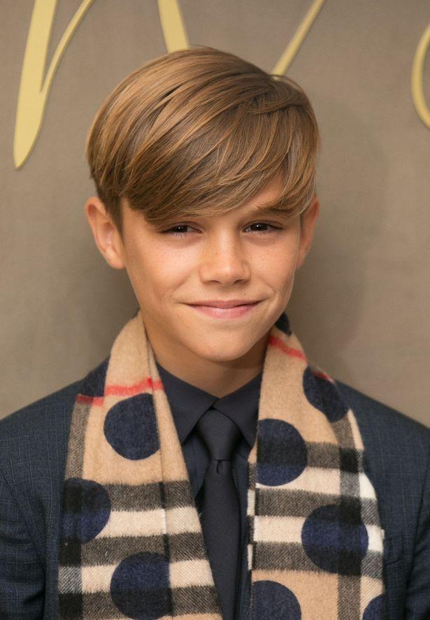 David Beckham Devastated As Son Romeo Gives Up Football Boy Haircuts Long Boys Long Hairstyles Boys Haircuts