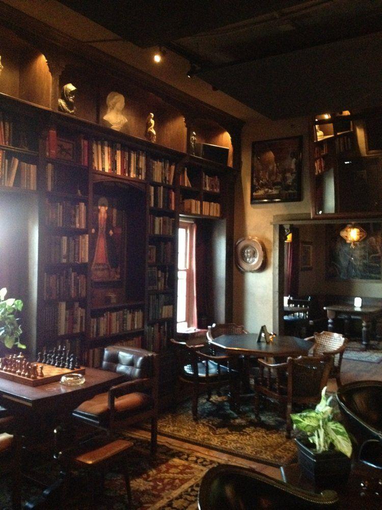 Paschall Bar Denton Tx Yelp Tap Room Built In Bookcase Denton