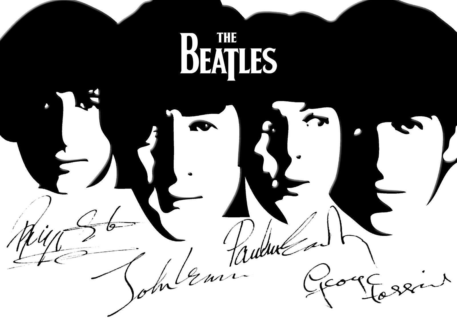 beatles poster the beatles beatles art