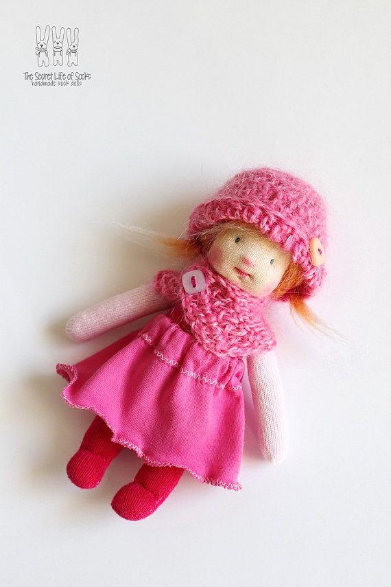 Waldorf Doll - Donda - Waldorf inspired doll - Sock Doll
