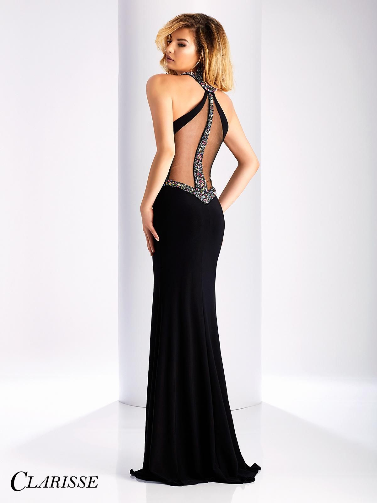 Fitted sexy clarisse prom dress style look simple and stunning