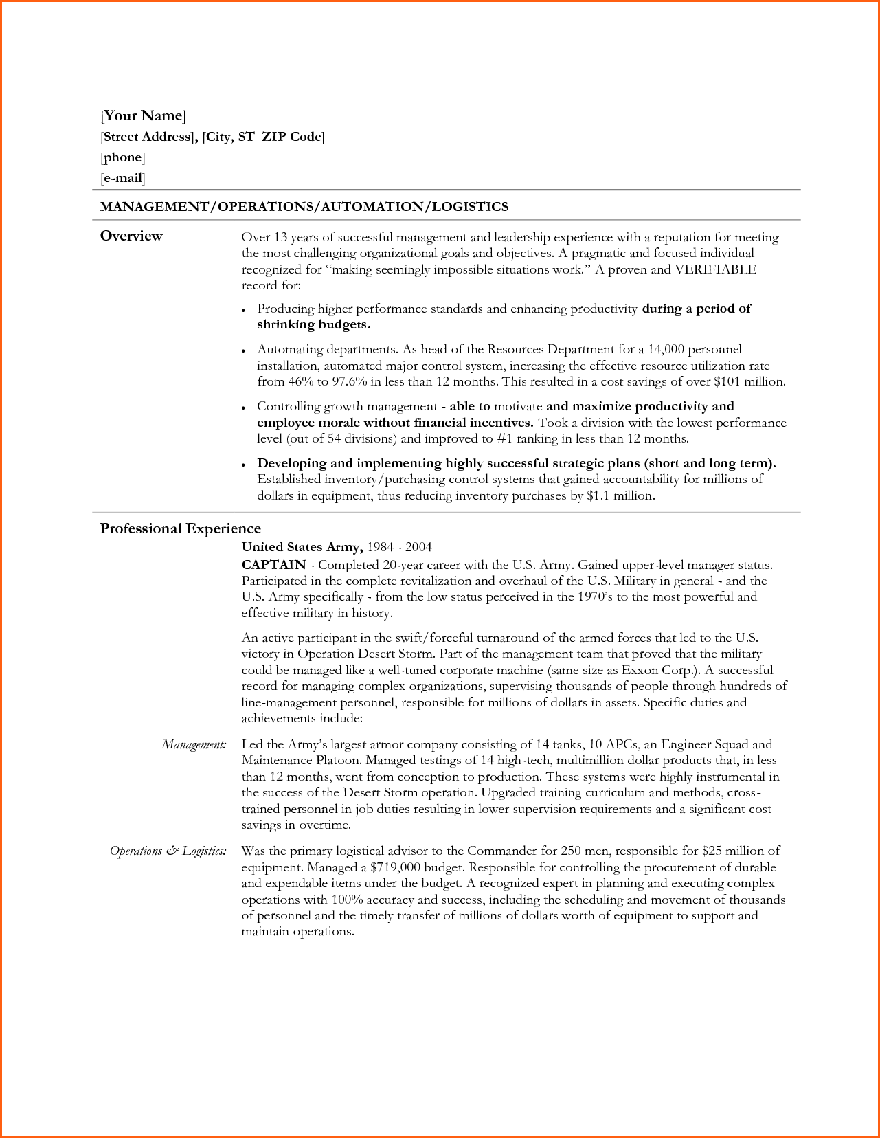 daily objectives sample for ojt event planning template resume
