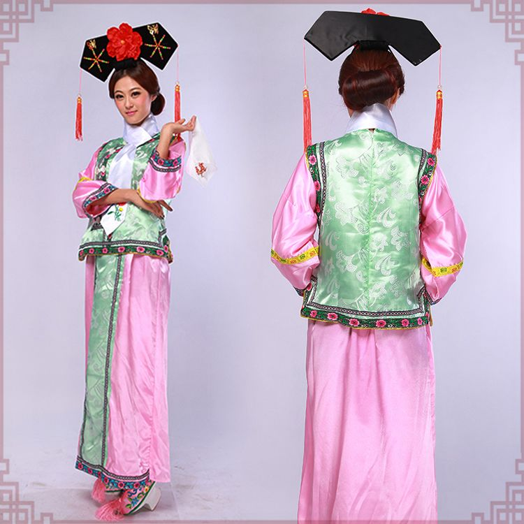 Qing-Dynasty-Gege-princess-dress-original-Chinese ...