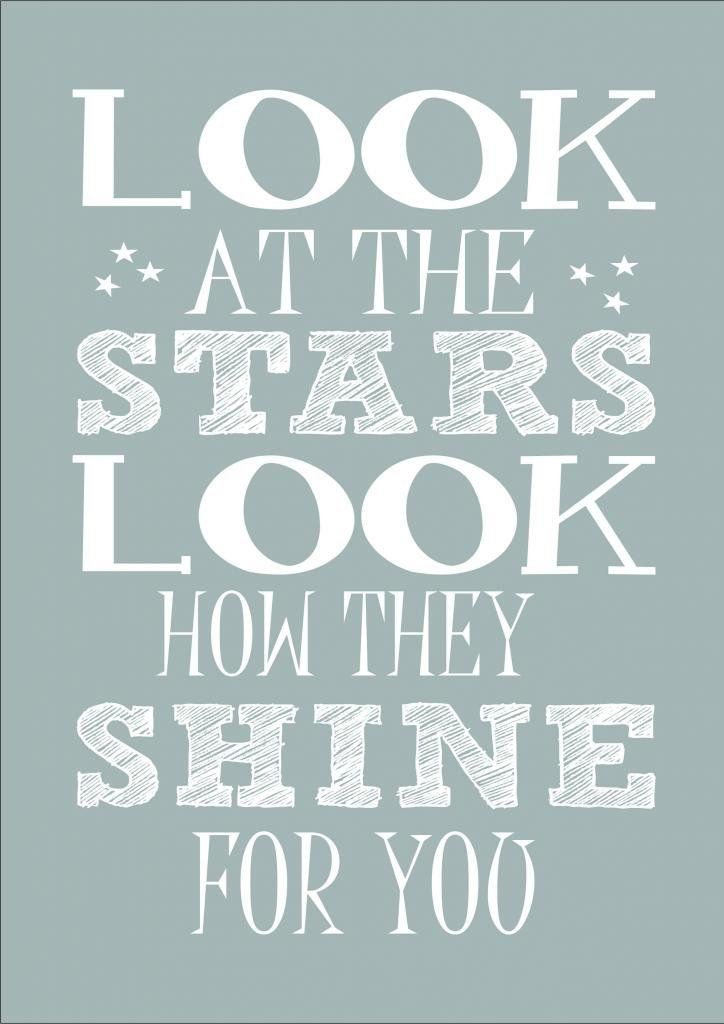 Coldplay Yellow Look At The Stars Look How They Shine For You Nursery Lyrics Word Wall Art Words Vario Word Art Poster Word Wall Art Lyrics On Canvas