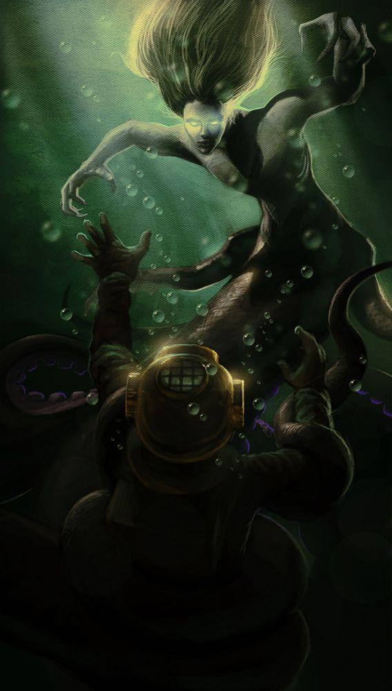 Ursula by *JesusAConde on deviantART