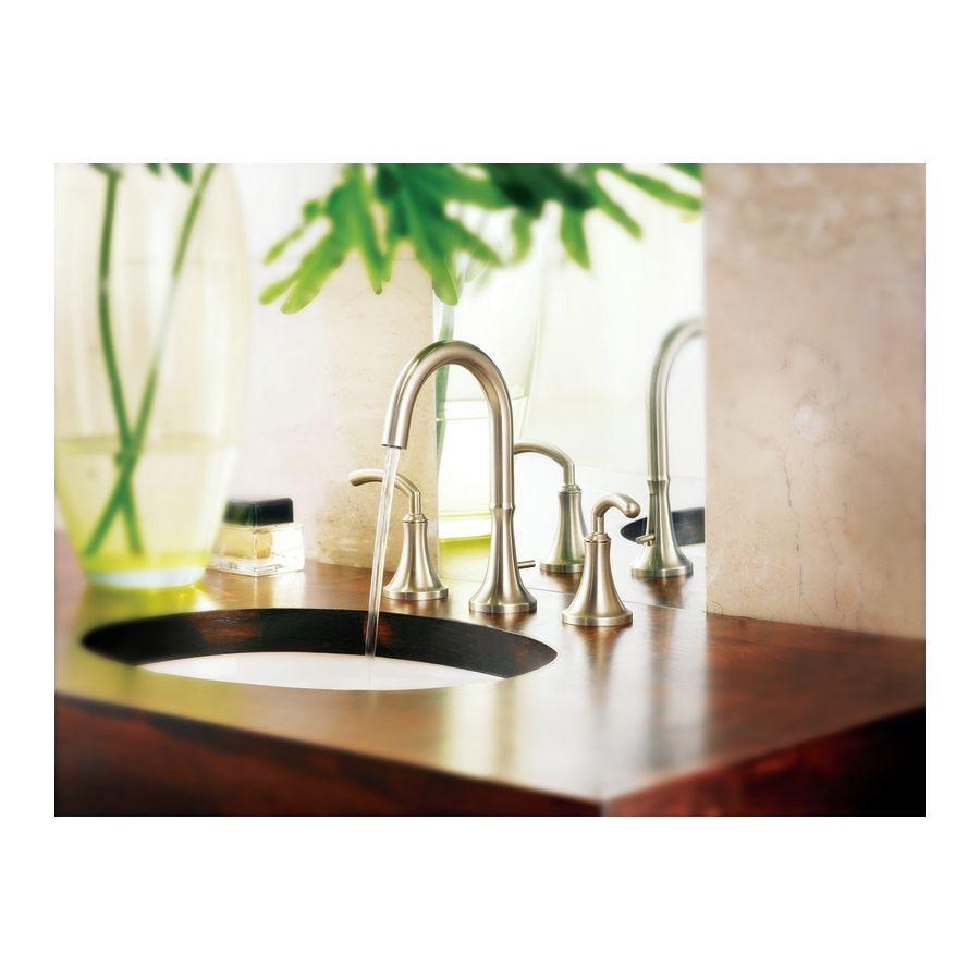 Moen Icon Chrome 2-Handle Widespread Watersense Bathroom Faucet ...