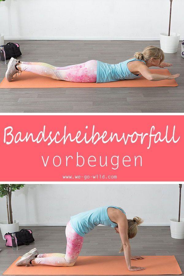 9 Lendenwirbel Übungen gegen Schmerzen im unteren Rücken..