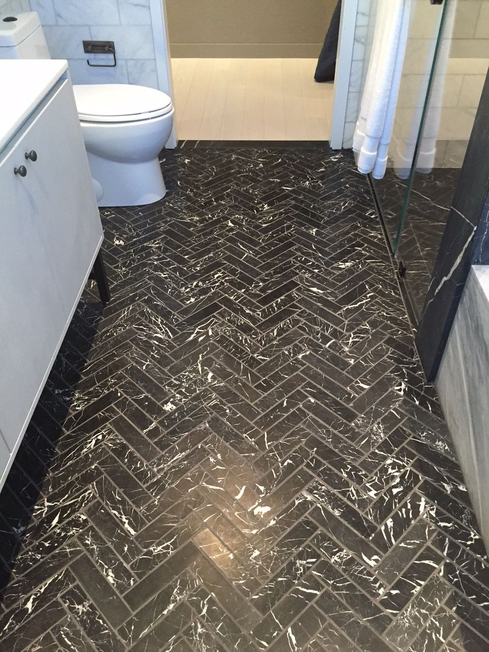 Image result for Nero Marquina Marble floor
