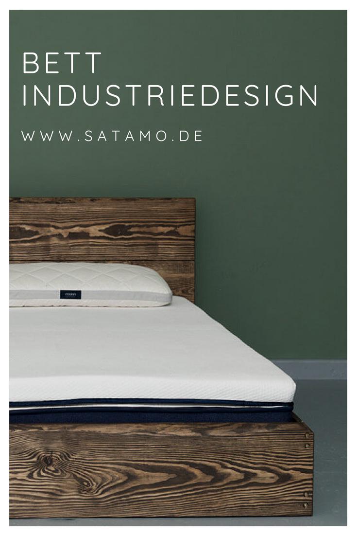 Das Bett Industriedesign Bringt Etwas Loft Flair Ins Schlafzimmer. Entdecke  Tolle Modelle Aus Liebevoller Handarbeit