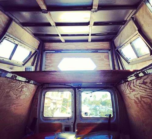 Camper Van Conversion Part 1 Raising The Roof Van Conversion Parts Van Conversion Build A Camper