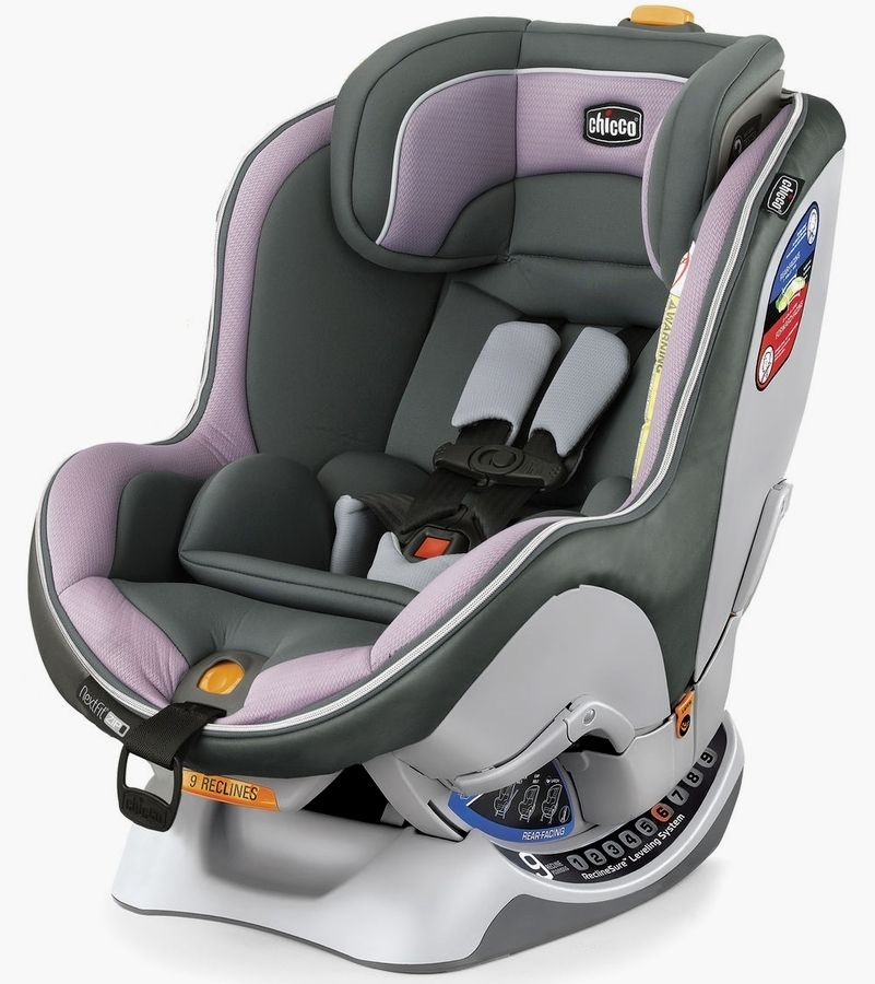 Chiccos NextFit Zip Convertible Car Seat In Lavender Is Easy To Install Accurately And Securely Switches From Rear Facing Forward As Baby