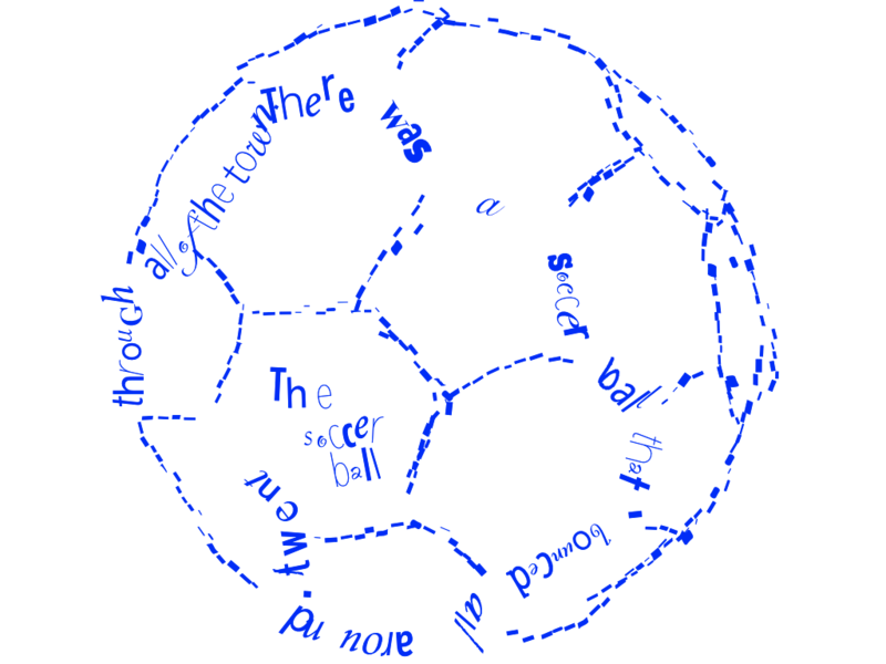 shape poems , soccer ball | Cool spot ideas | Pinterest ...