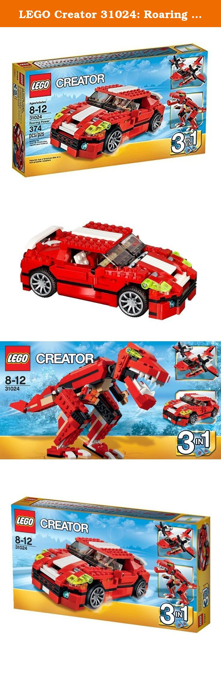 Lego car toys  LEGO Creator  Roaring Power Feel the awesome power from the