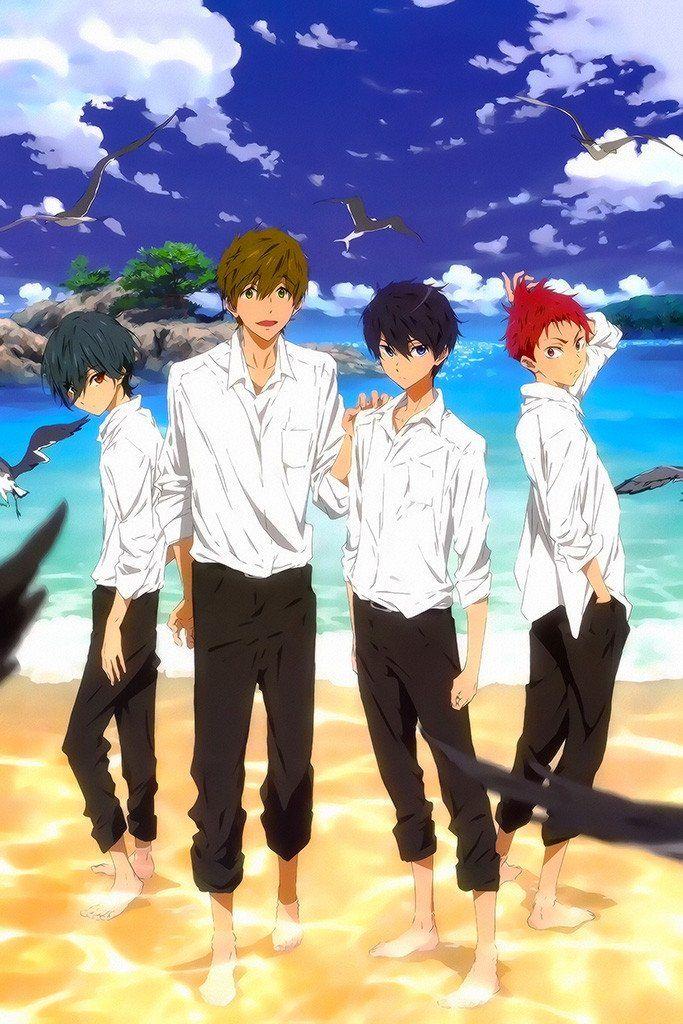 Free! Anime Series Poster Free anime, Free iwatobi, Free