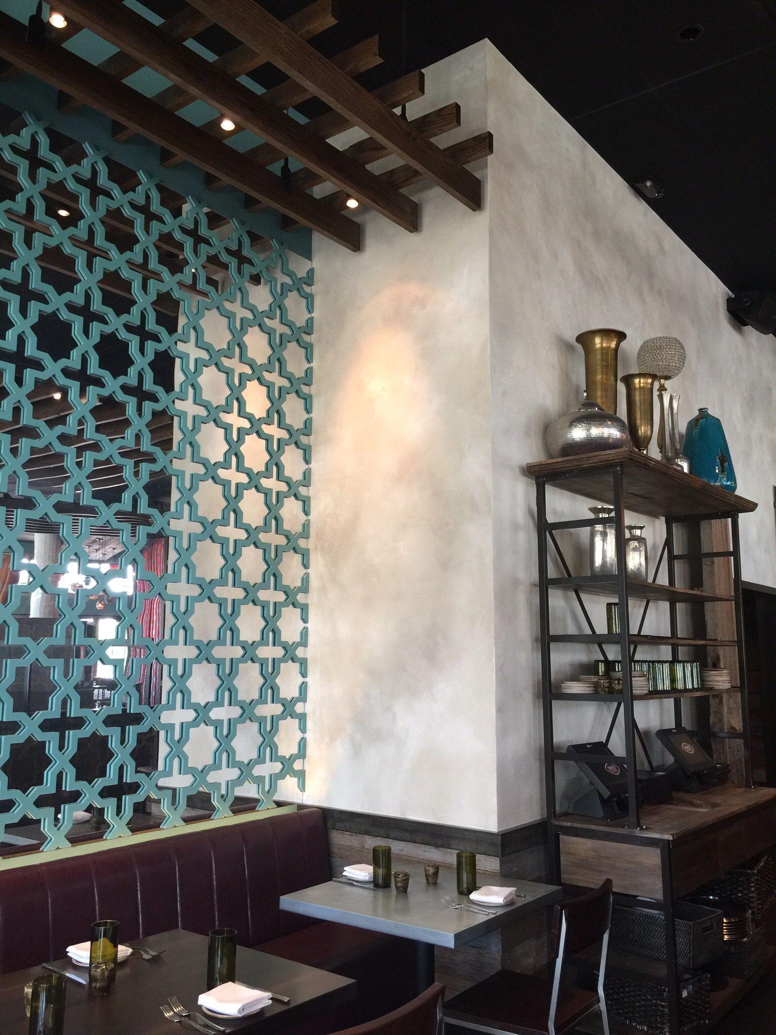 Gypsy Kitchen, Atlanta, GA. Lime Italian Plaster Walls By Struttura.  Www.struttura.us
