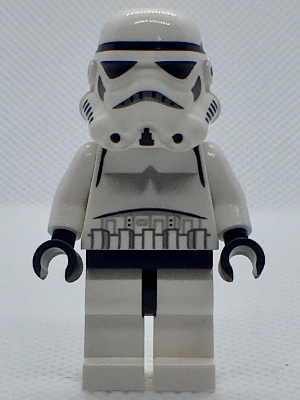 LEGO Star Wars Stormtrooper Minifigure Dotted Mouth Pattern