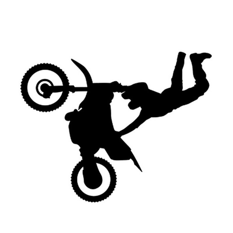 Wholesale PcspcsFun Freestyle Motocross Car Stickers Cool - Cool custom motorcycle stickers