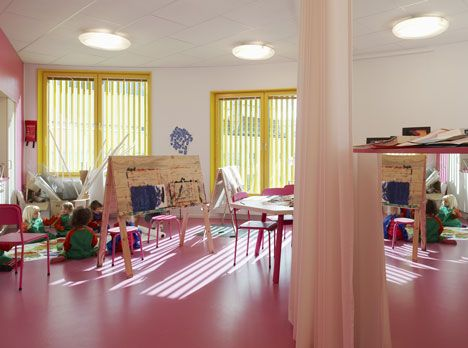 Tellus Nursery School By Tham Videgård Arkitekter In Stockholm Sweden
