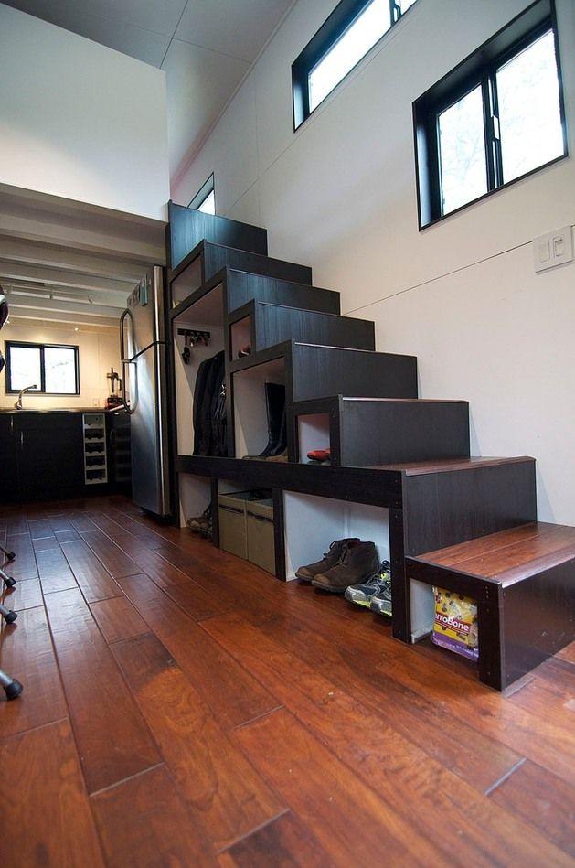 Inside Tiny House On Wheels tiny house on wheelsandrew & gabriella morrison | tiny homes